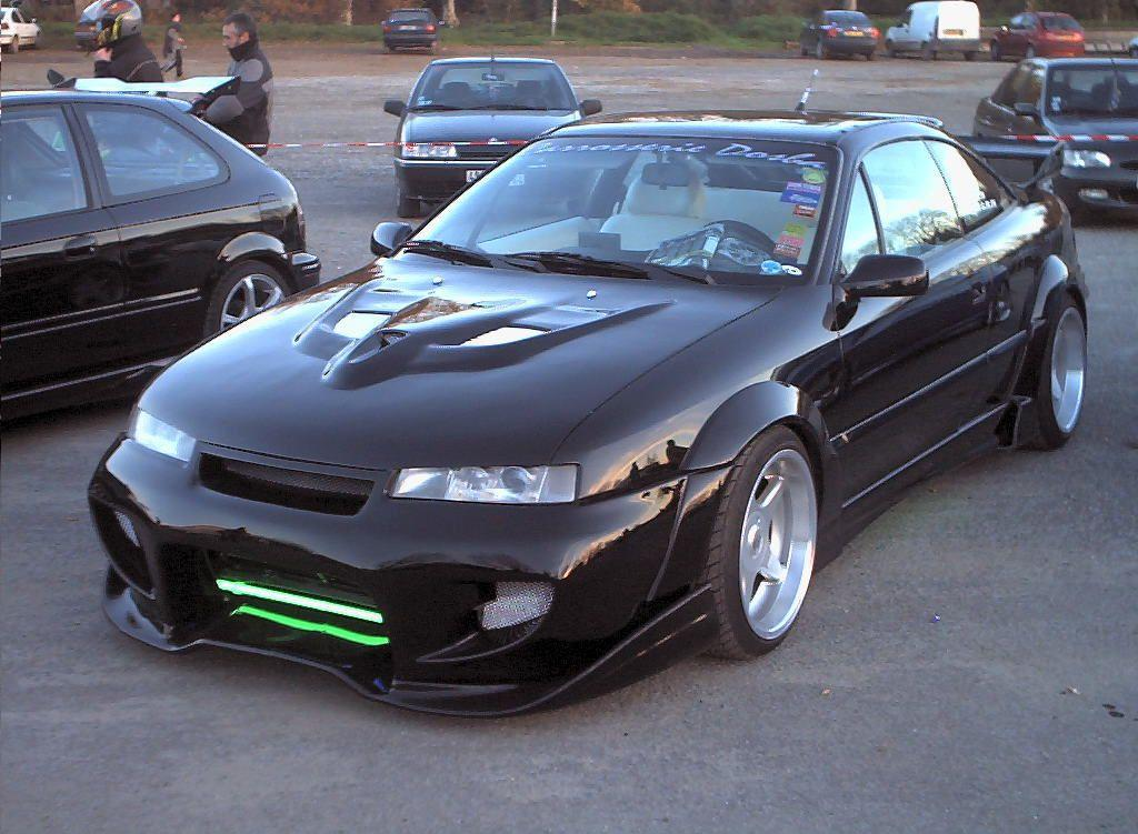 opel calibra turbo tuning